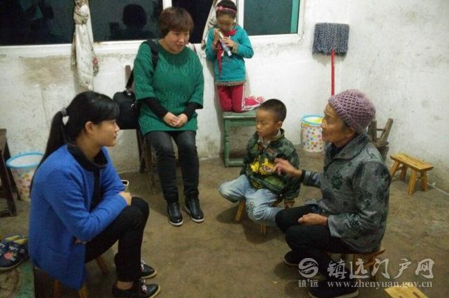 蕉溪镇中心幼儿园开展关爱留守儿童教师家访活