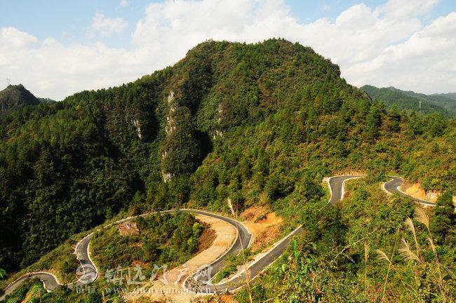 贵州沿河甘溪风景